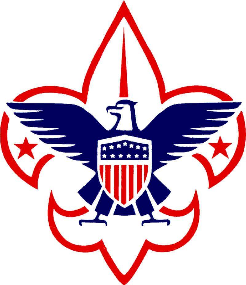 Boy Scout Emblem Cake