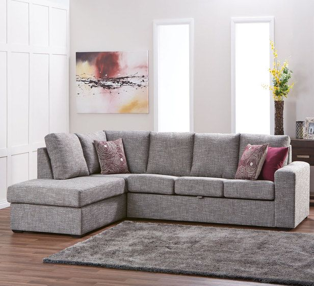 Dakota 5 seater modular chaise with storage modulars for Sofa bed fantastic furniture