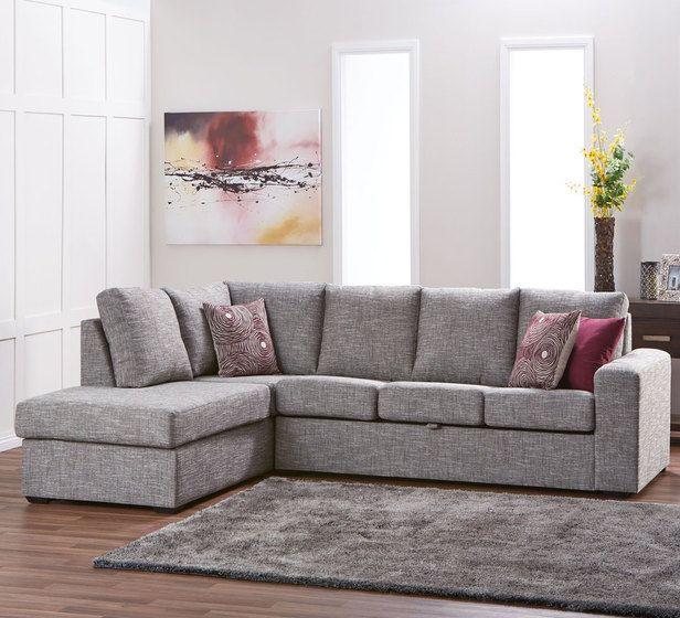 Dakota 5 Seater Modular Chaise Value Furniture Furniture Bed Furniture