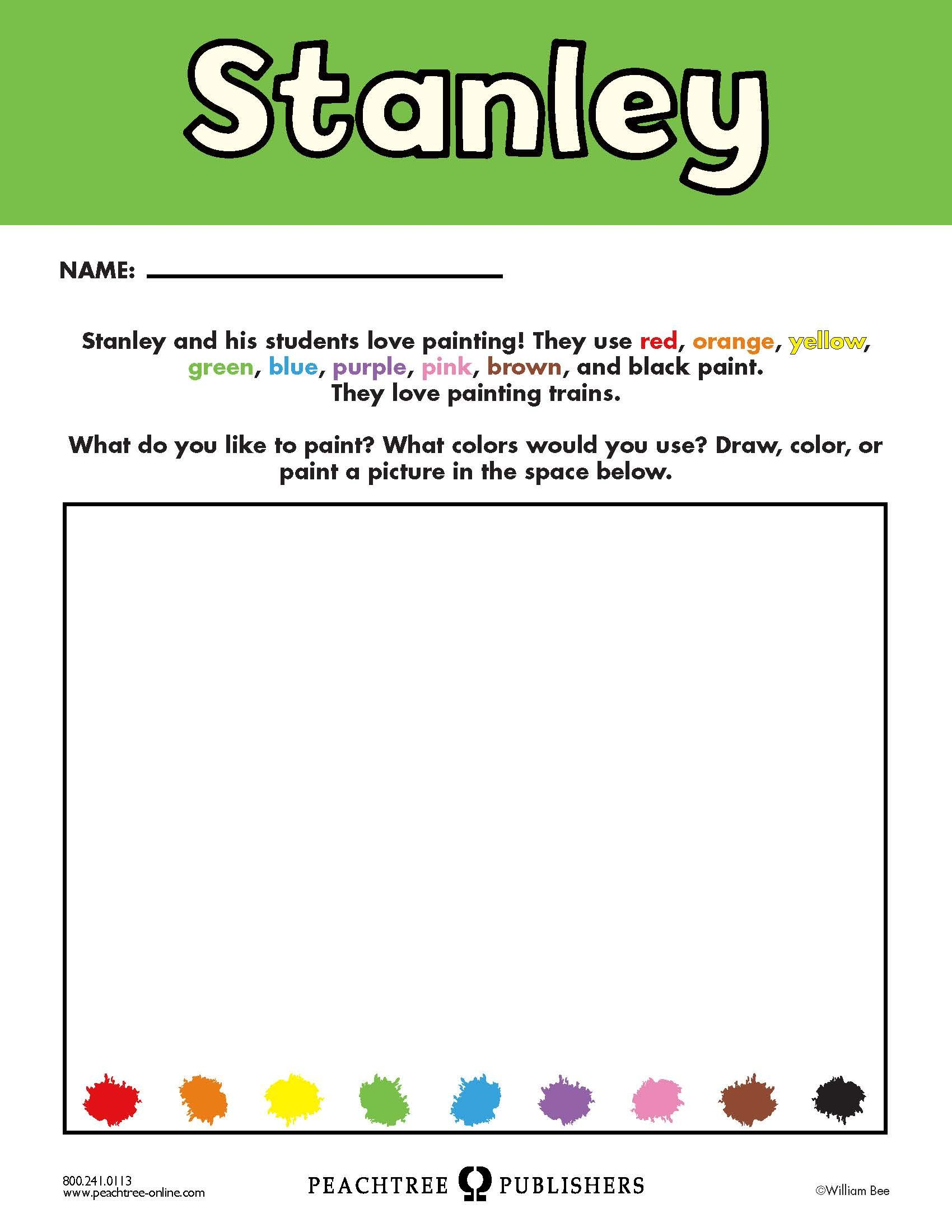 Free Educators Resource Activity Kit For Stanley Colors