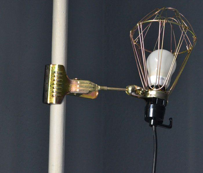New Klemme lampe industrielt look HAY