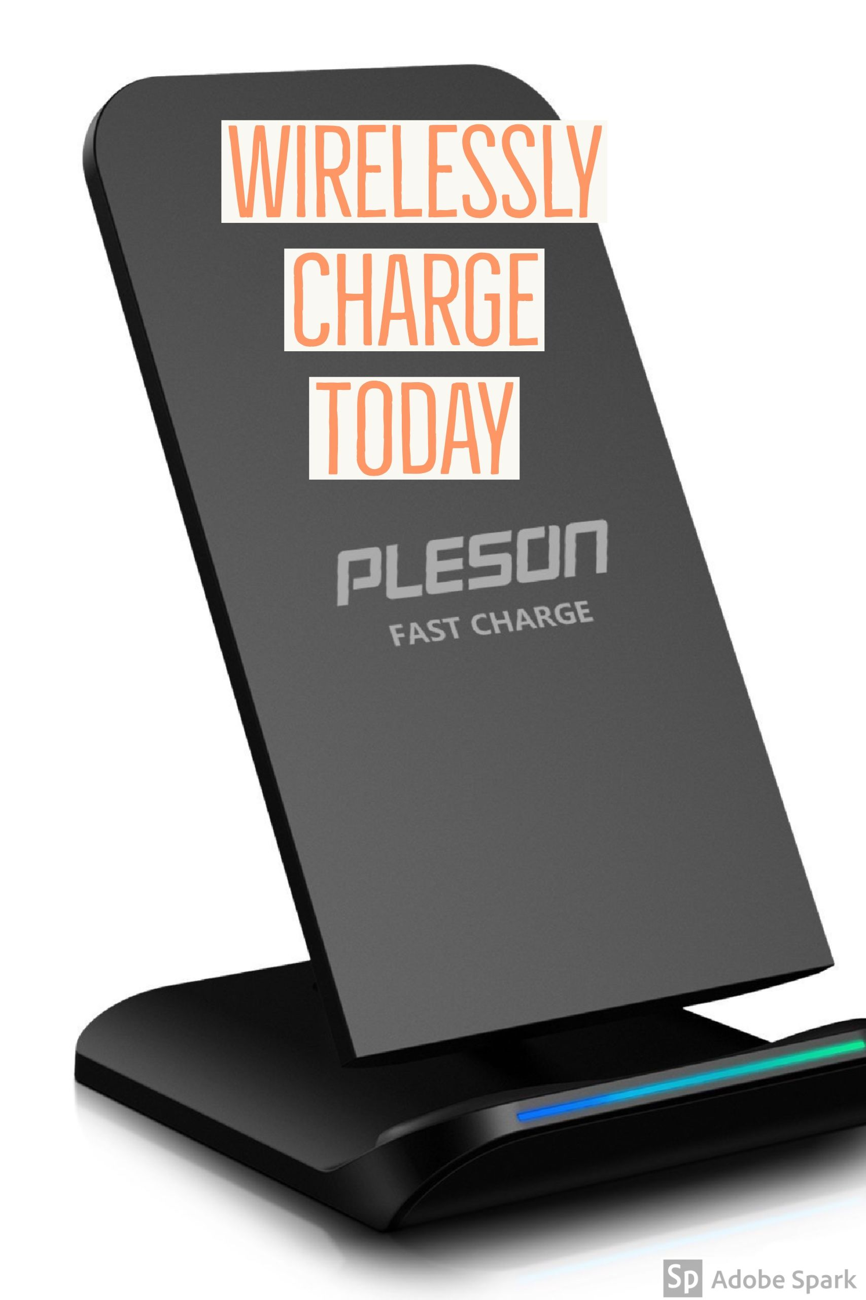 Pleson Fast Wireless Charger Cell Qi Charging Pad Lifeproof Samsung Galaxy S6 Fre Case 77 51242 Black Stand For Note 8 S8 Plus S7 Edge 5 And Standard Charge