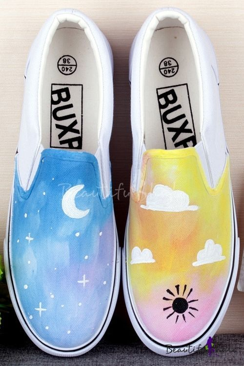 43 Painted Shoes You Should Own -   13 DIY Clothes Shoes outfit