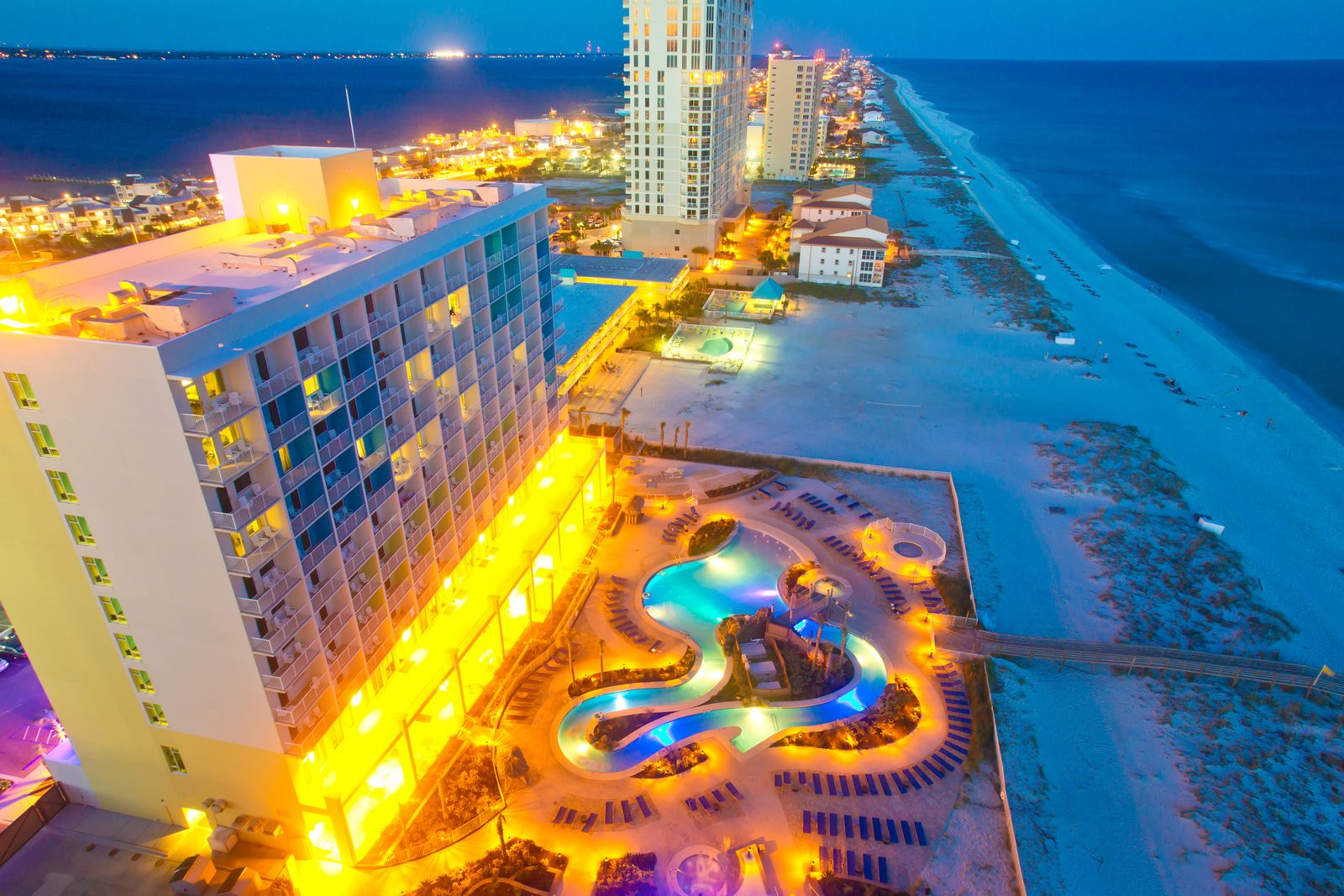 Holiday Inn Resort Beachfront Hotel Pensacola Beach Florida Family Fun Destination Pensacolabeach