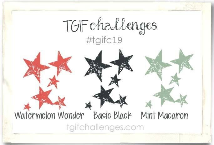 TGIF Challenge!: #TGIFC19 Blackish-Greenish-Reddish Color Challenge!!