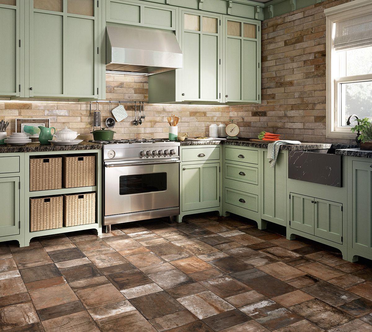 Backsplash And Black Counters Best Floor Tiles Cottage Kitchens Living Room Kitchen