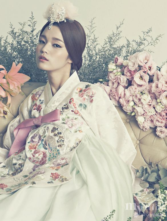 MYWEDDING 바이단 한복 花中花