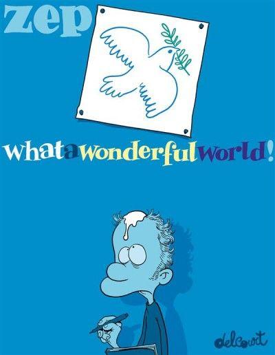 What a wonderful world de Zep