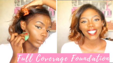 Do you want the full coverage foundation makeup look