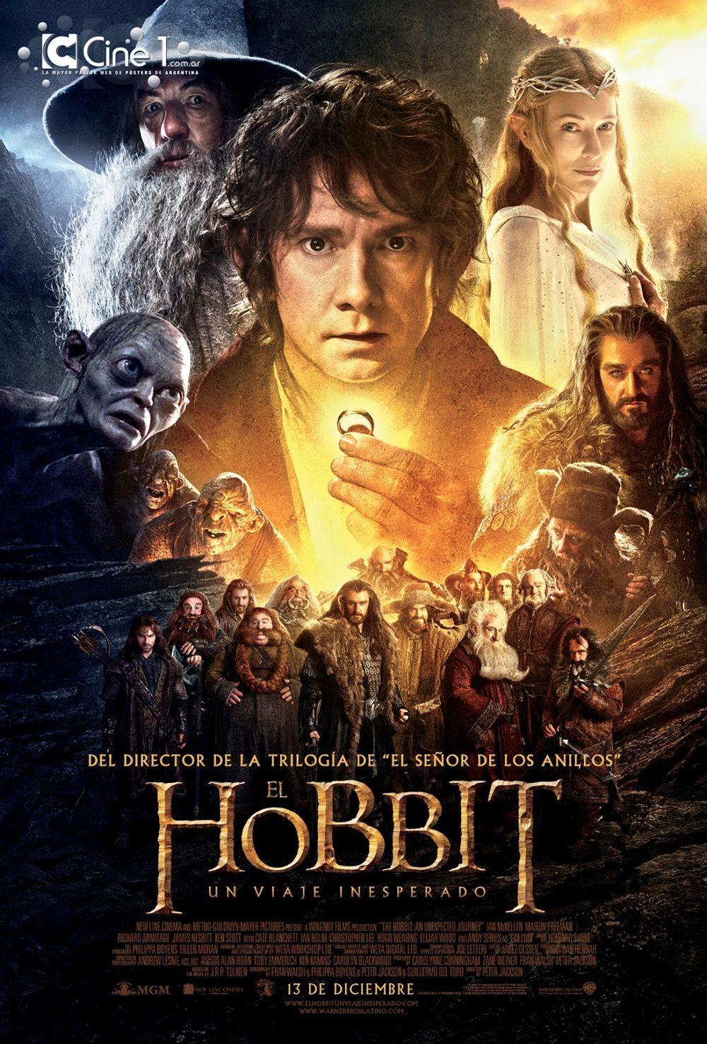 El Hobbit Un Viaje Inesperado Hobbit Peliculas Cine Portadas De Películas