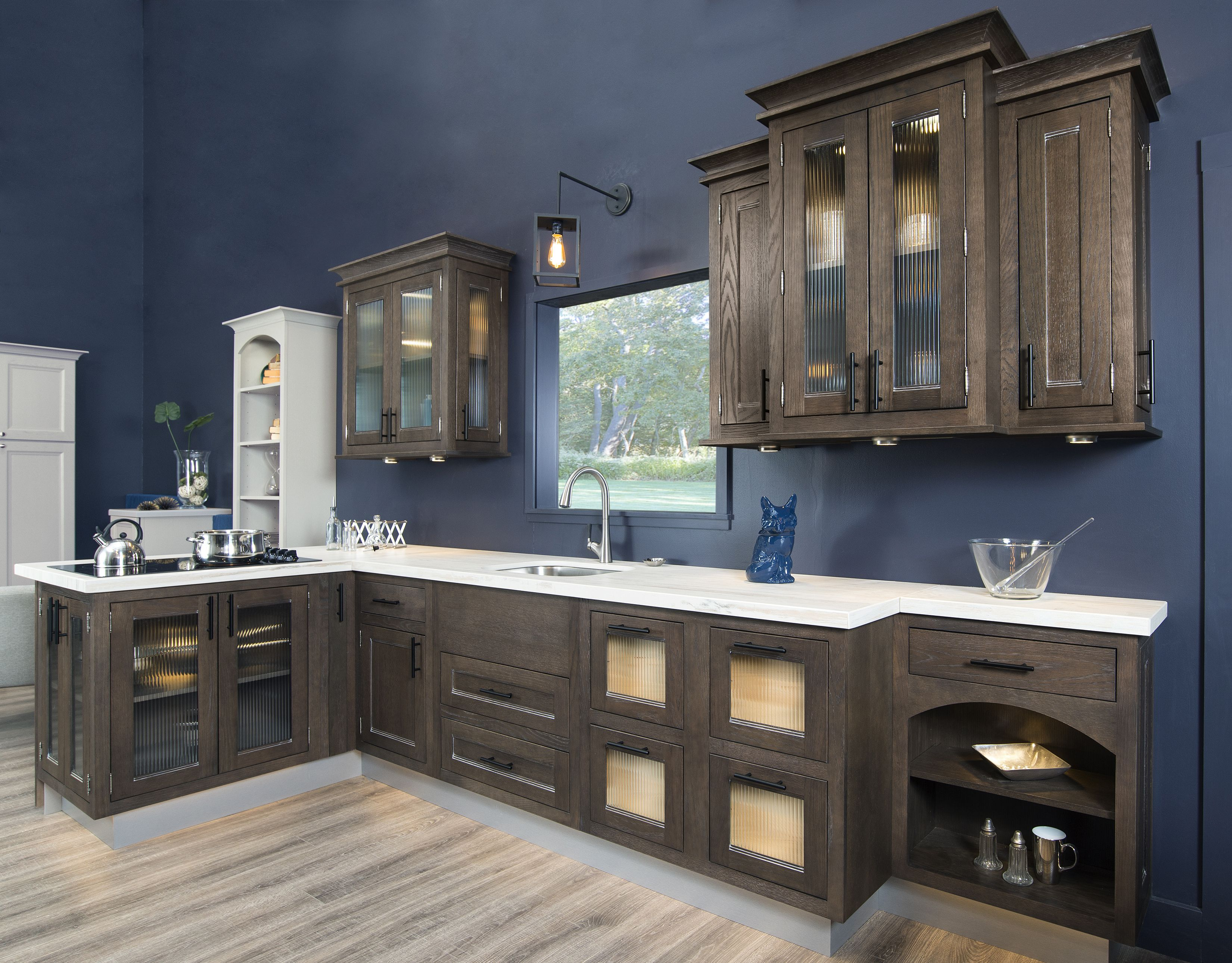 Best This Dark Brown Kitchen Cabinetry Is Stained With Our 640 x 480