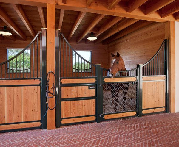 Horse Stables And Barns : Santa barbara ca stable interiors pinterest