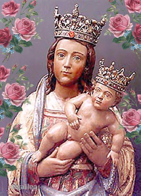 Pin On Santa Virgen María