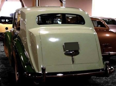 1955 Six-light Limousine Half-division by H.J. Mulliner (chassis 4CS2, body 5724, design 7376) for the Emir of Kuwait