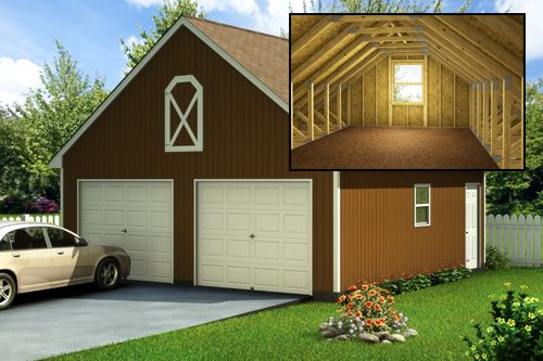 Custom Building Package Kits Two Car Garages New House