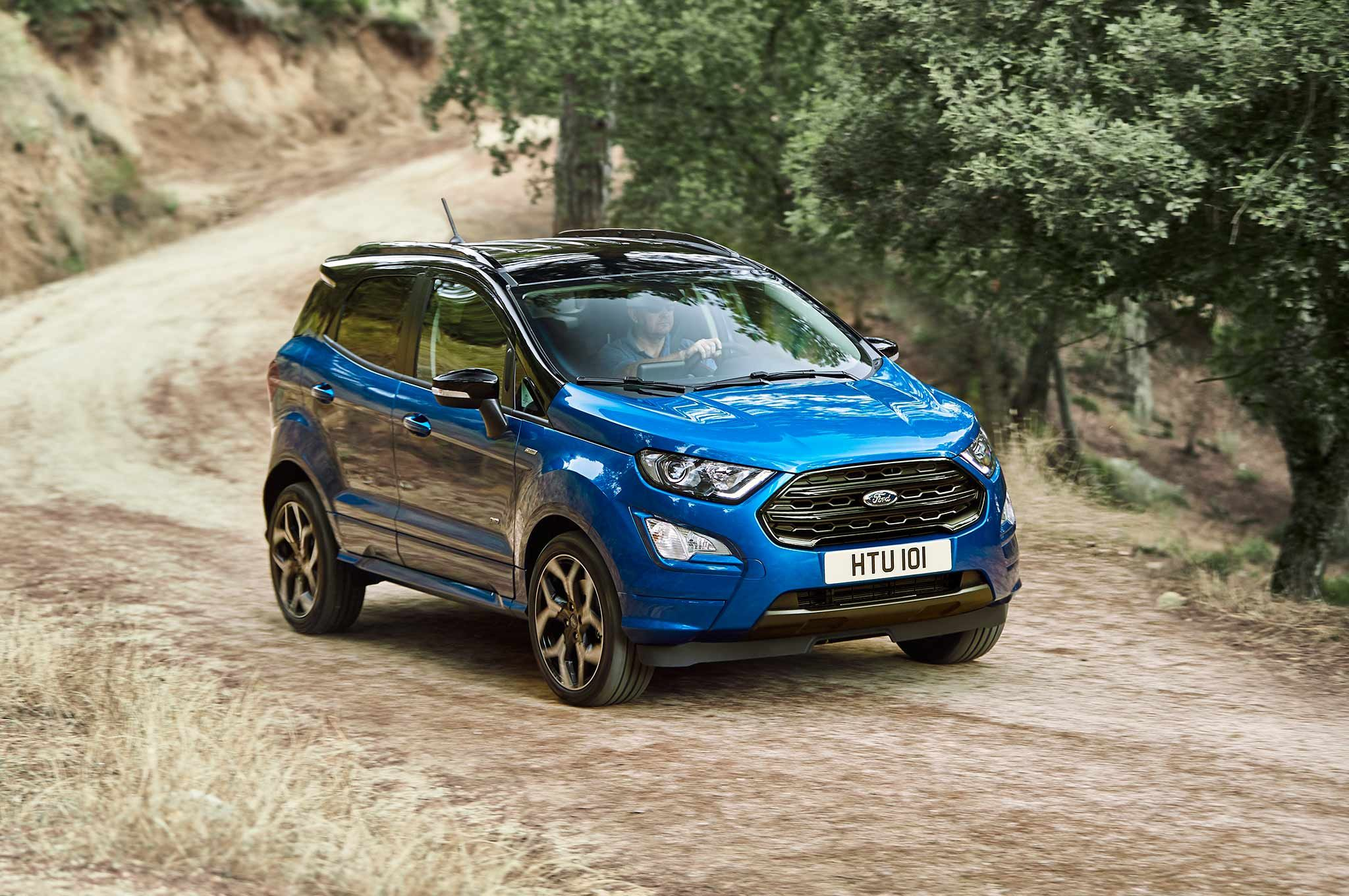 Carnews Ford Tweaking European Lineup With New Offerings Like Ecosport St Line Cars Ecosport Autonews Motorshow Ford Ecosport Ford Suv