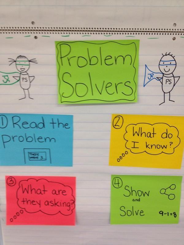 Problem solving made fun! | Math | Pinterest