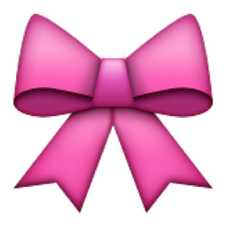 Ribbon Emoji U 1f380 U E314 Emoji Bows Girl Emoji Cute Emoji Wallpaper