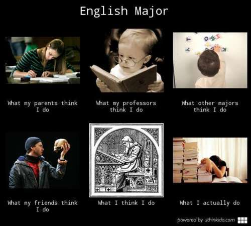 English Major Problems  Pretty much  Especially the