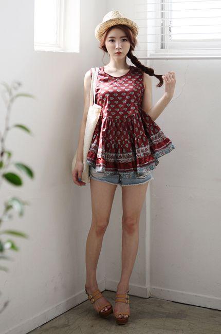 Ulzzang Summer Fashion. | แฟชั่น, แฟชั่นวัยรุ่น, เสื้อ