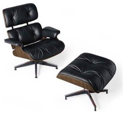 eames lounge and ottoman modern armchairs design within reach