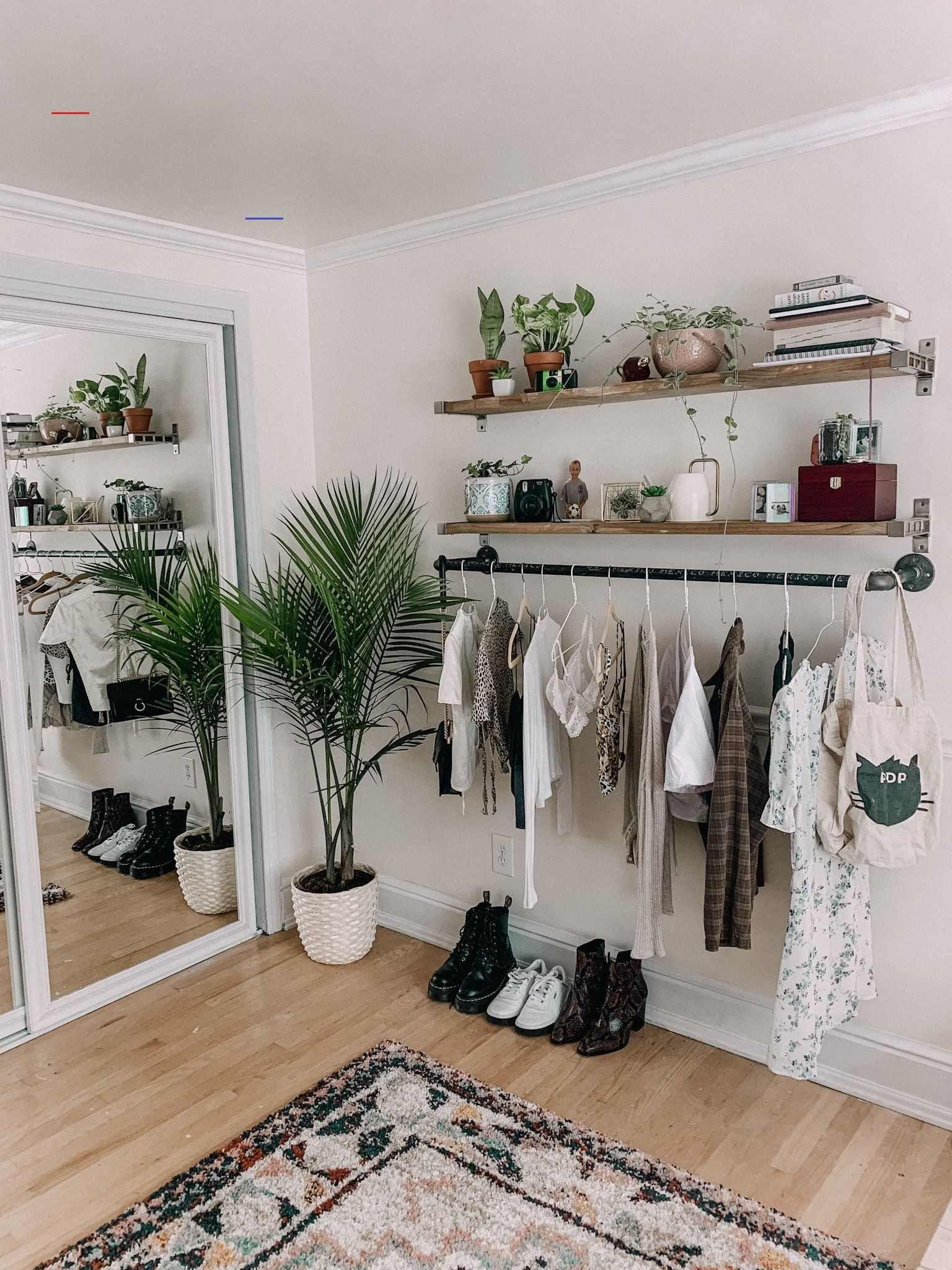 #clothingracks #aesthetic room decor vintage diy in 2020 ...