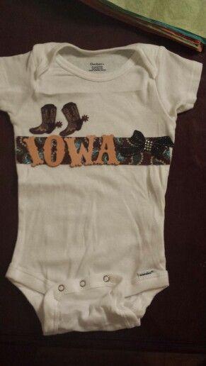 Iowa state fair onsie