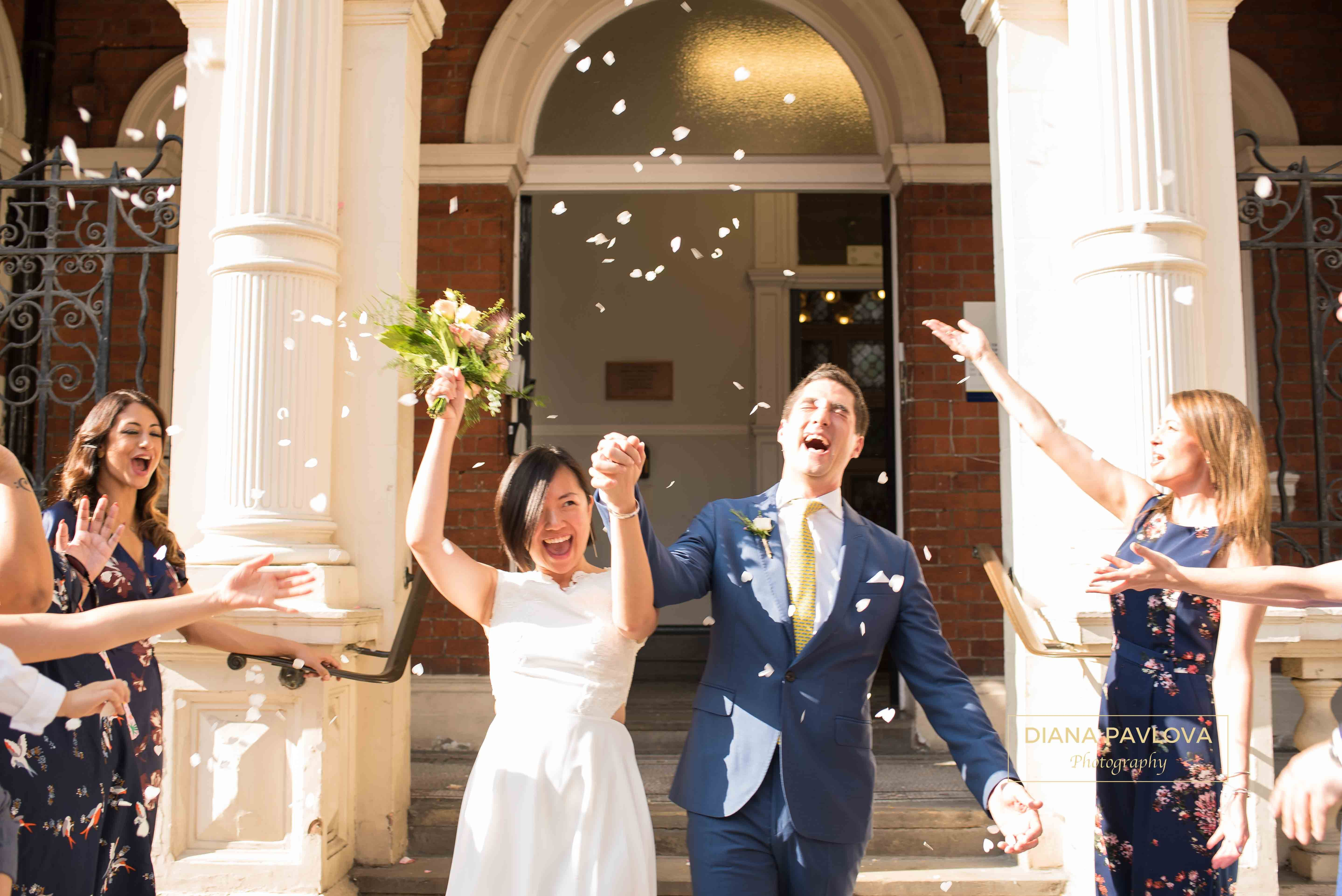 Civil Ceremony At Mayfair Library London Wedding Photography By Diana Pavlova