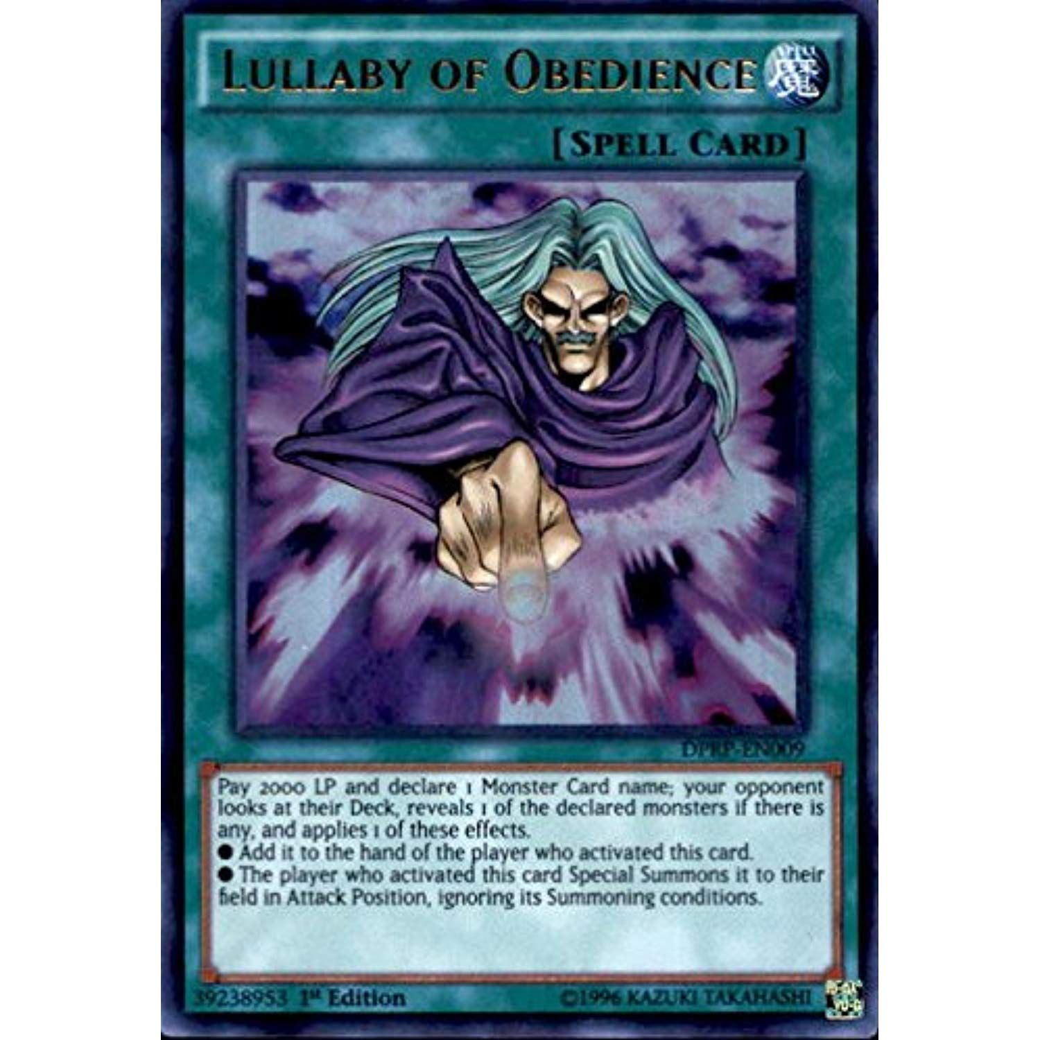 Lullaby of Obedience DPRP-EN009 X 3 Mint YUGIOH Cards Ultra Rare