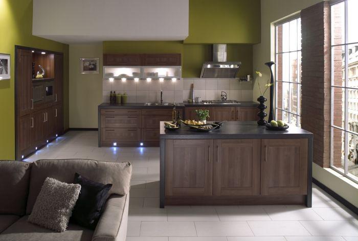 granit arbeitsplatten moderne küchengestaltung