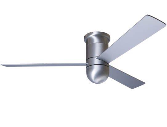 Cirrus Hugger Fan No Light By Modern Fan Co Cir Hug Ba 52 Al Nl Nc Ceiling Fan Hugger Ceiling Fan Modern Fan