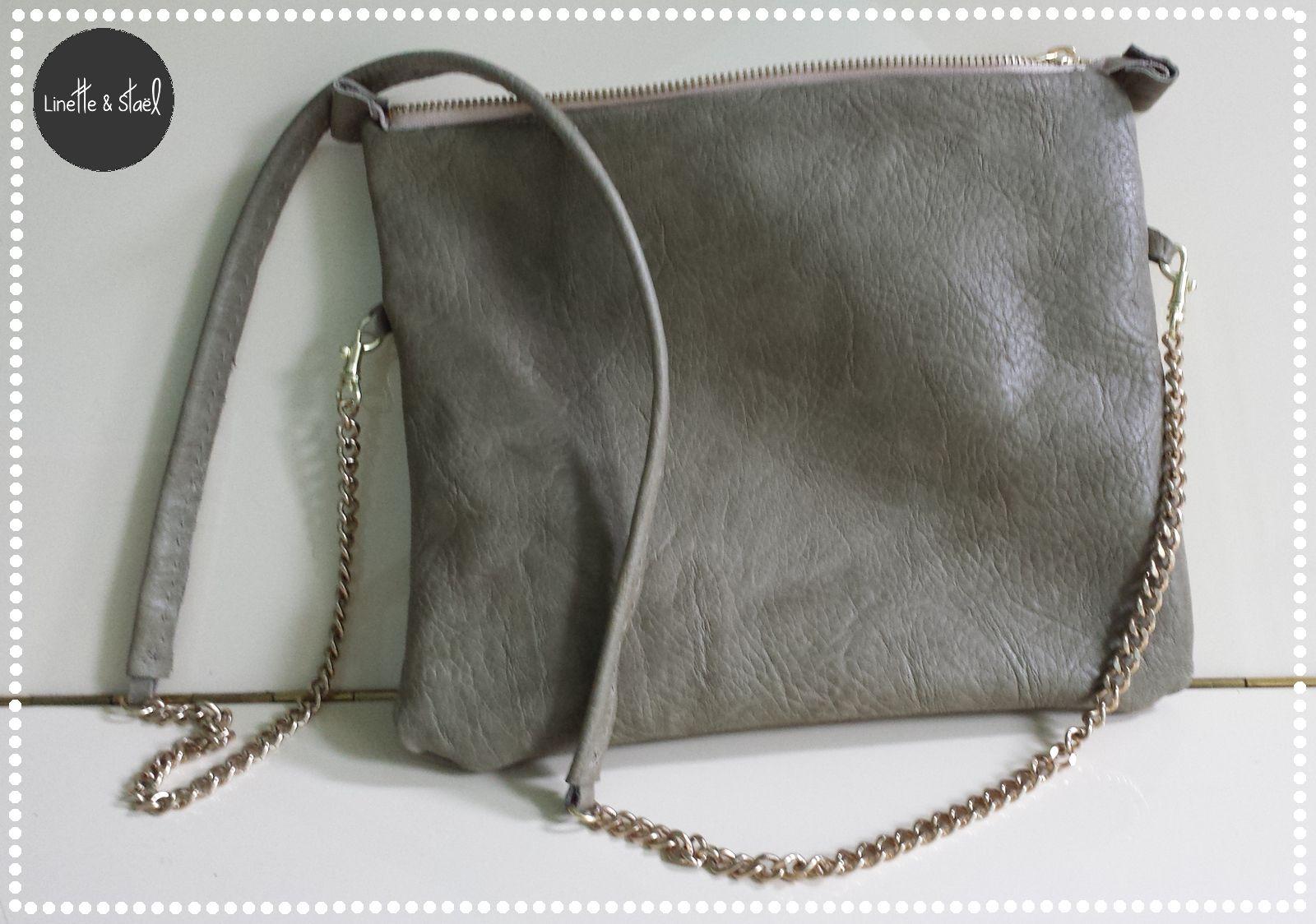 Diy petit sac en cuir petit sac en cuir sac en bandouli re et sac en cuir - Tuto sac besace bandouliere ...