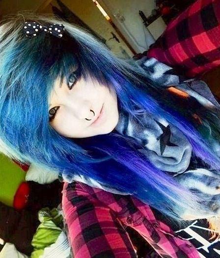 Alternative Hair | Cute emo girls, Emo scene hair, Cute emo