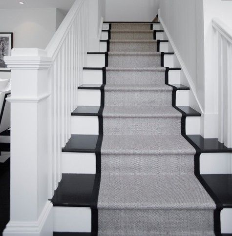 Non Slip Stair Coverings Can Be Stylish Too. Photo Via Home On Zillow.