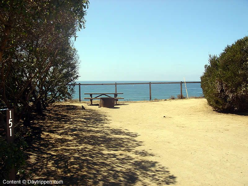 San Elijo Beach State Camping Site 151 So Crazy This Is Our Exact Campground I Love Go