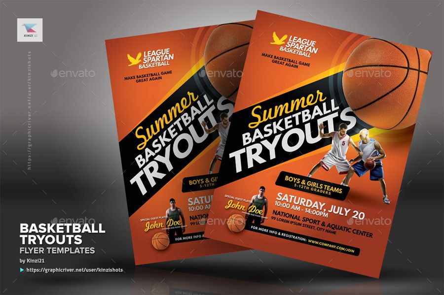 basketball tryouts flyer templates tryouts basketball templates