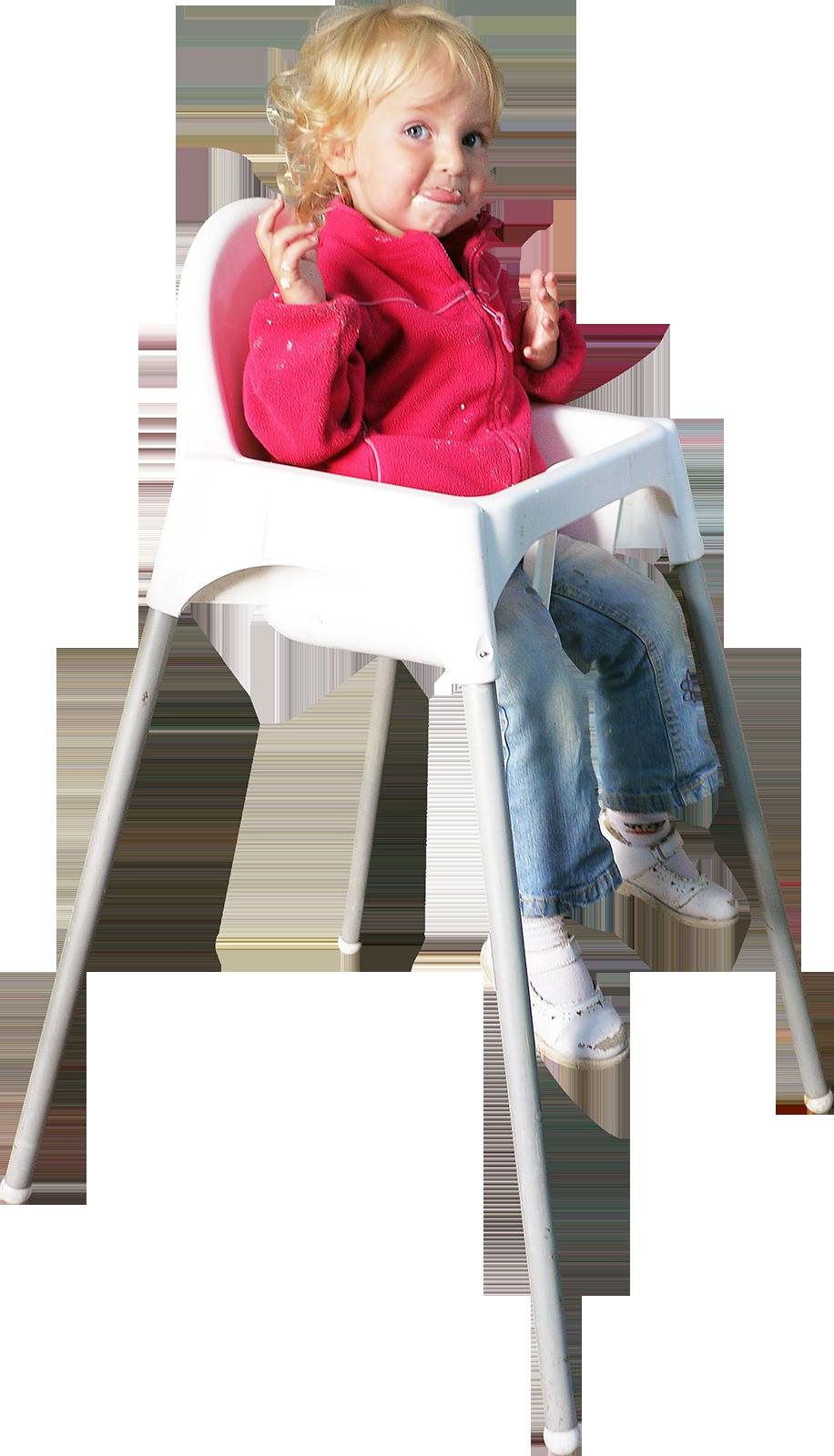 Child Sitting In Chair