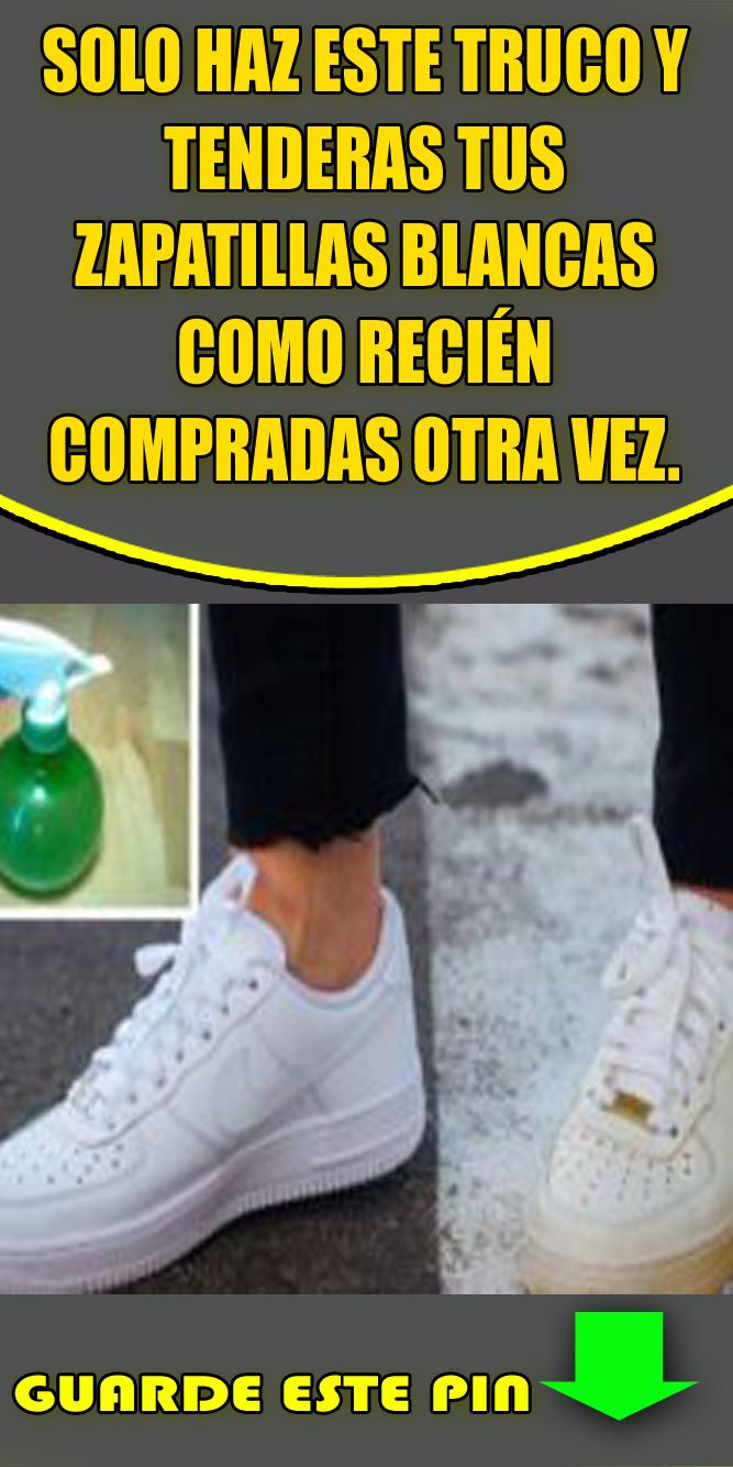 Pin de Ilda Quintana en limpiar zapatillas blancas
