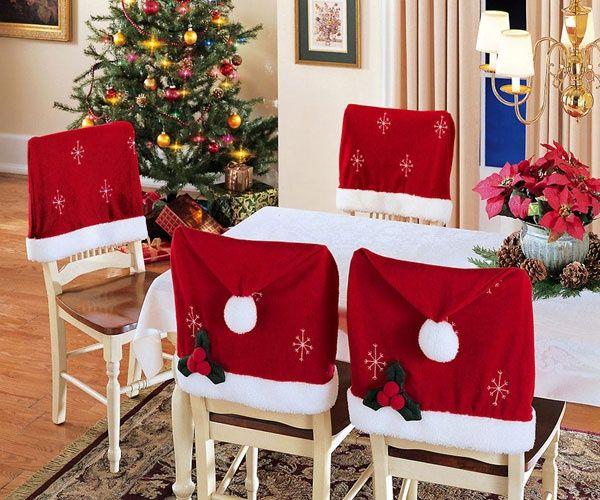 Christmas Chair Decoration Christmas Chair Decoration Ideas