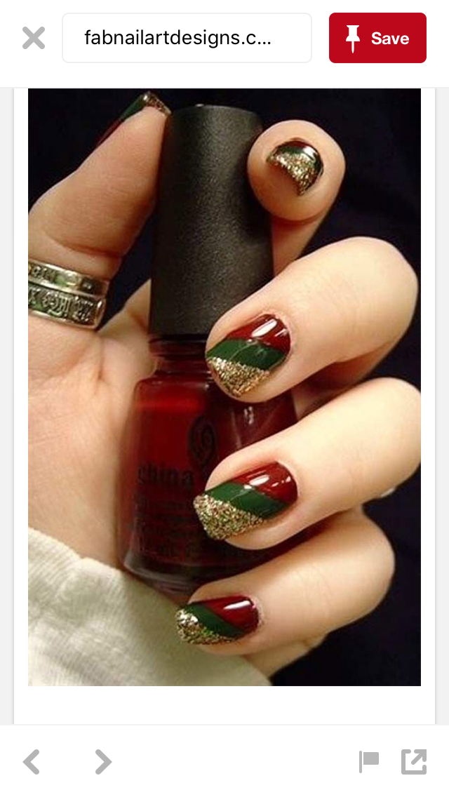 Pin By Ashleigh Adams On Holiday Nails Pinterest