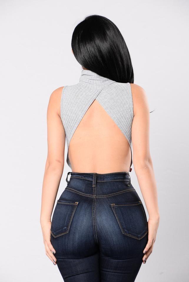 Snug Love Bodysuit - Heather Grey