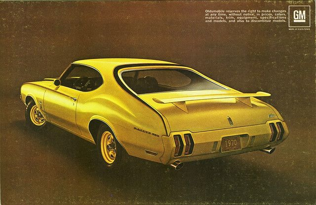 The Oldie But Goodie 1970 Oldsmobile Rallye 350 Rear View By Oldsmobile Classic Cars Oldsmobile 442