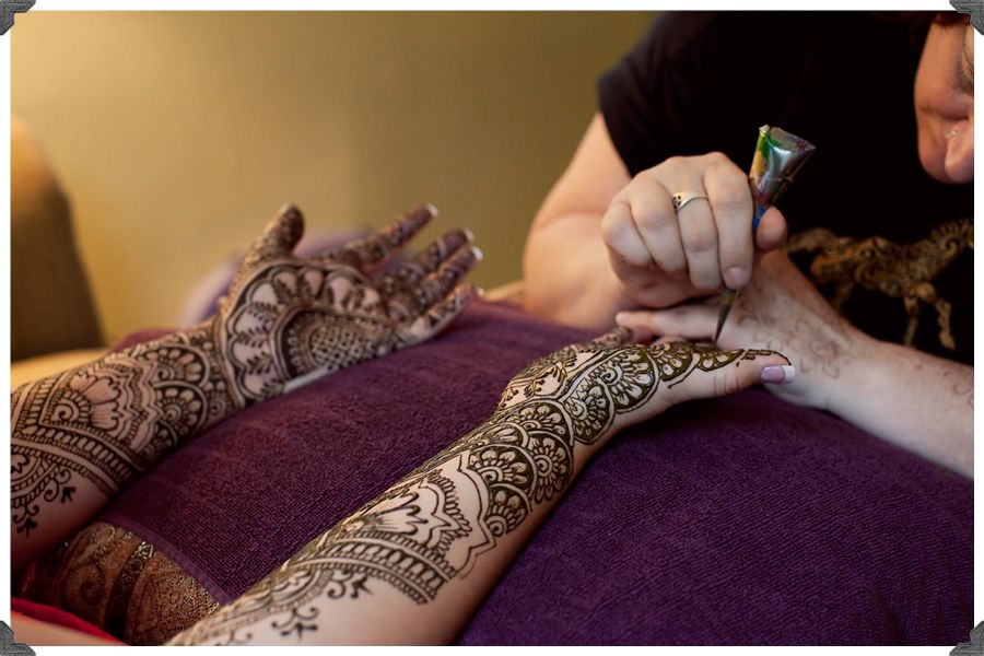 Mehndi Party Invites : An incredibly beautiful henna design from a mehndi party