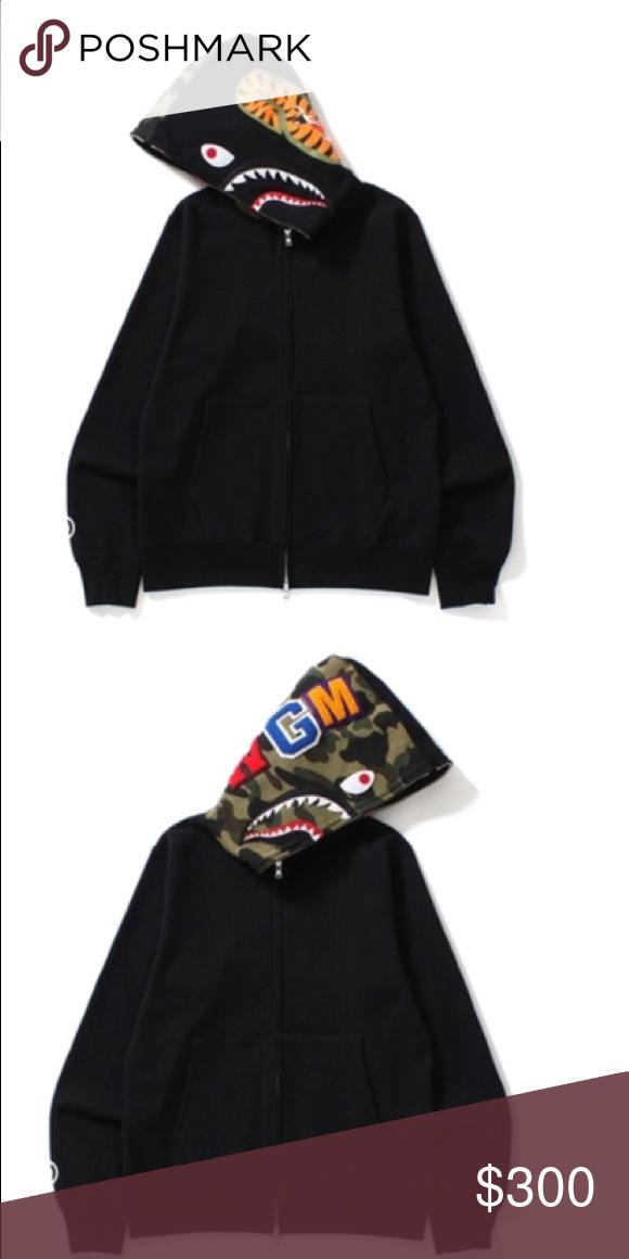 2af1d2584 Bape Hoodie Army And Black Bape Hoodie Bape Jackets   Coats