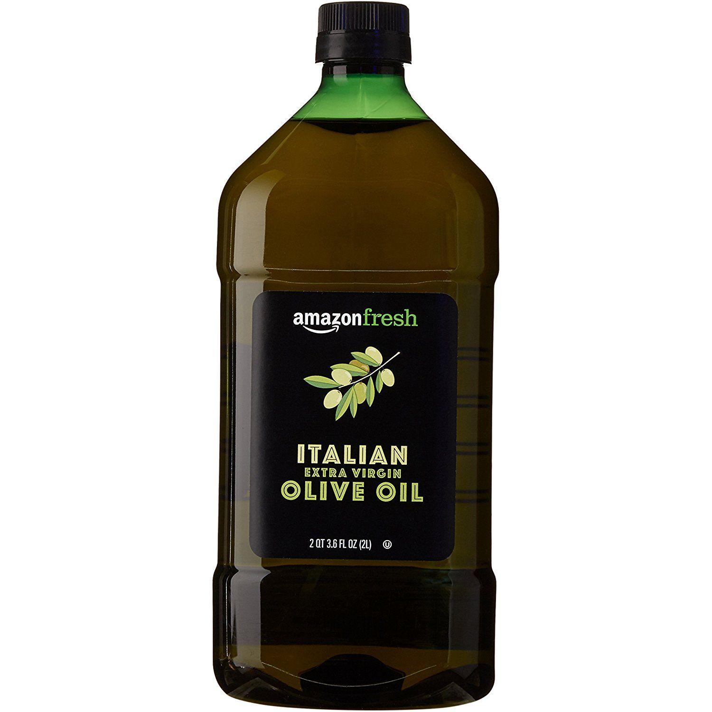 AmazonFresh Italian Extra Virgin Olive Oil, 2L (2 QT 3.6
