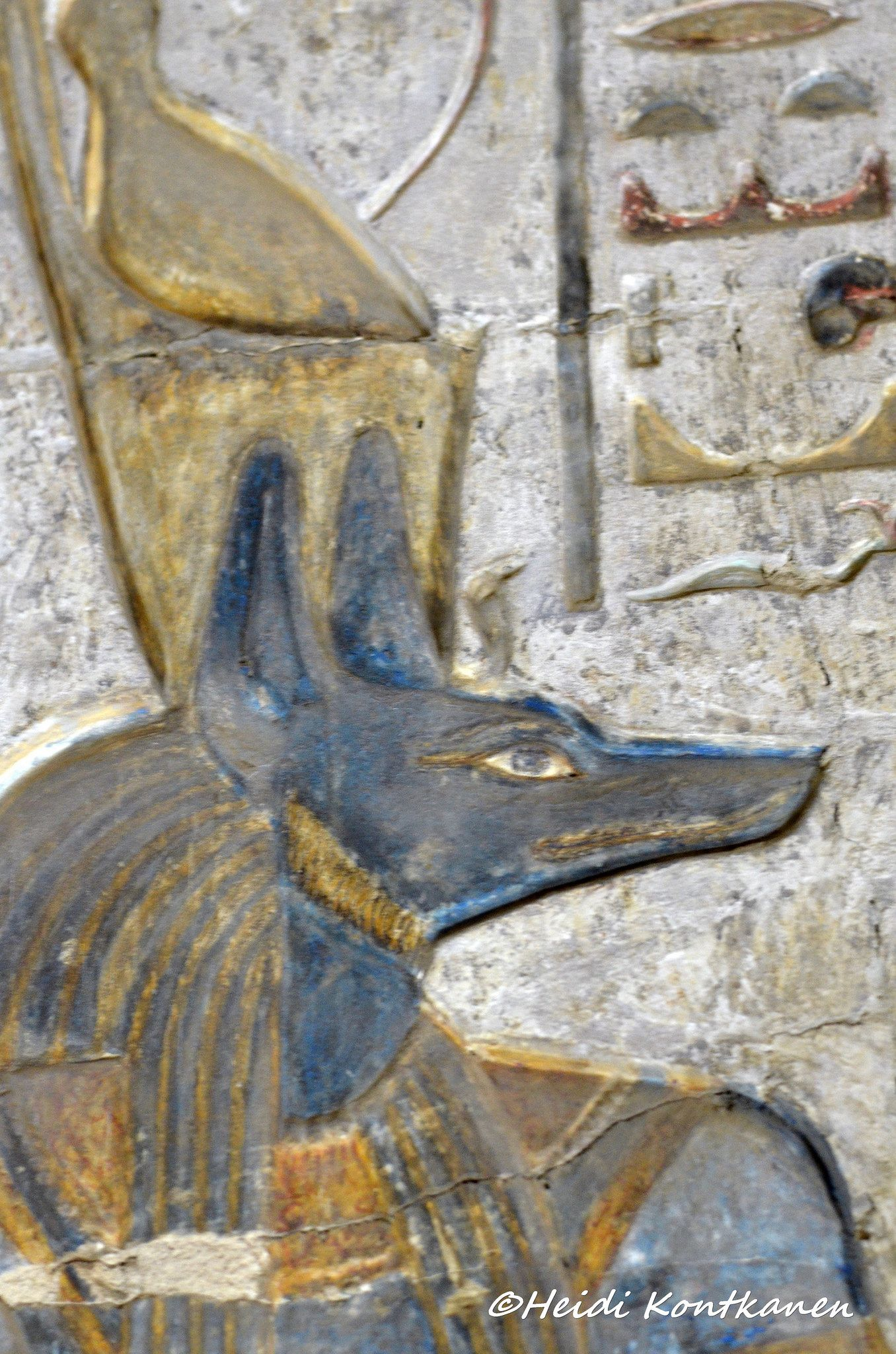 Anubis With Double Crown Egypt Art Egyptian Art Ancient Egyptian