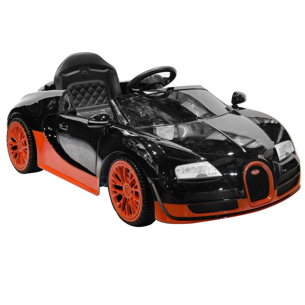 Kid Motorz Bugatti Veyron Ride-On Vehicle, Black