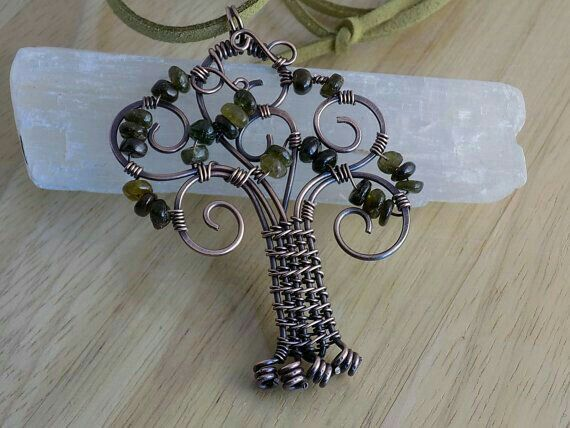 Pin von Hellen Rose auf Jewelry Design: Beaded Tree, Tree of Life ...