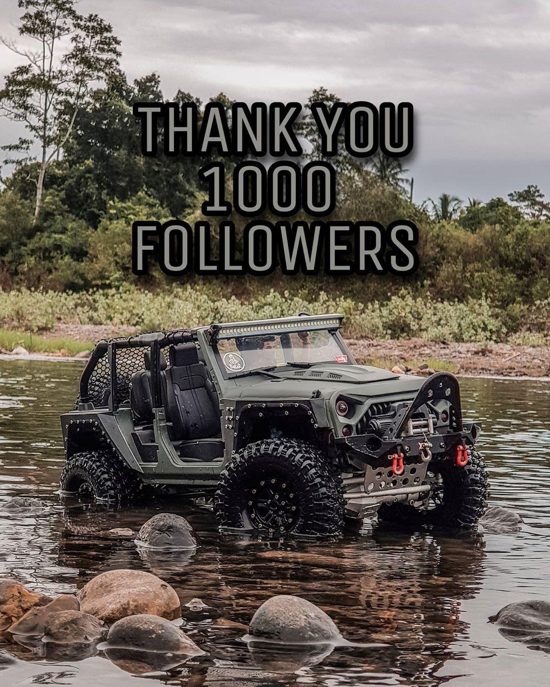 "RC Nekad on Instagram: ""#rcadventureindonesia #1000followers #thankyou1000followers #rcoffroadindonesia #axial #traxxas #capo #mountaintrailrc #rcrockcrawler…"""