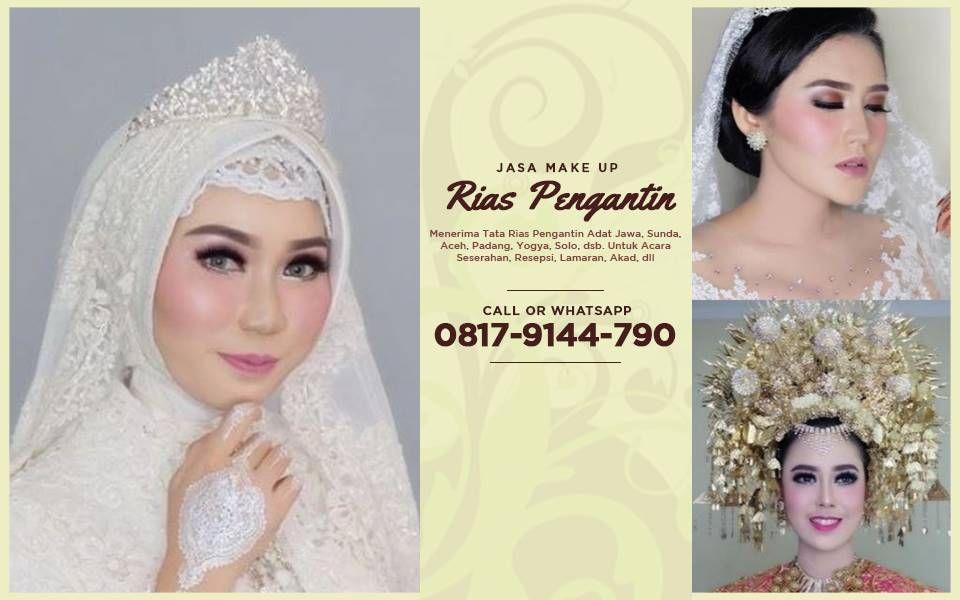 Paket Make Up Rias Pengantin Jawa Modern Pengantin Pengantin Berhijab Makeup Pengantin